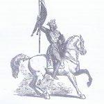 Godofredo de Buillon, considerado el fundador de la orden