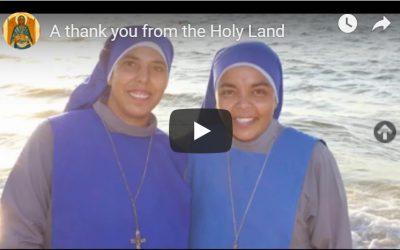 Tierra Santa da las gracias a la Orden, con motivo de la Consulta 2019