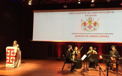 Concierto benéfico en Barcelona