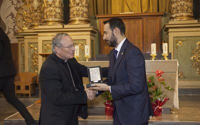 El Prior de la Delegación de Tarragona recibe la 'Medalla a la Fidelidad de la Semana Santa de Tarragona'